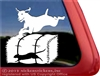 Weimaraner Barn Hunt Dog Car Truck RV Window Decal Sticker