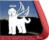 Custom Goldendoodle Labradoodle iPad Car Truck RV Window Decal Sticker