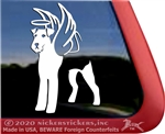 Cusotm Airedale Terrier Dog Car Truck RV Window Decal Sticker