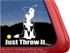 Split Face Border Collie Mom Car Truck RV Window Decal Sticker