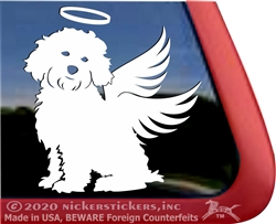 Custom Cavapoo Dog Window Decal