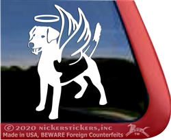 Custom Beagle Mix Dog Window Decal