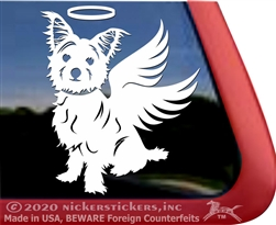 Custom Morkie Dog Car Truck RV Window Decal Sticker