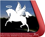 Custom Arabian Horse Trailer Car Truck RV Window Decal Sticker