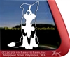 Border Collie Dog Window Decal