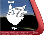 Custom Hen Car Truck RV Trailer Window Decal Sticker