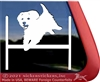 Maltipoo Agility Dog Vinyl Decal Window Decal