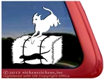 Italian Greyhound Barn Hunt Dog Car Truck RV Window Decal Sticker