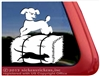 Custom Poodle Barn Hunt Dog Car Truck RV iPad Window Decal Sticker