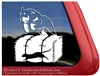 Rottweiler Barn Hunt Dog Car Truck RV Window Decal Sticker