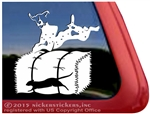 German Shorthaired Pointer Barn Hunt Window Car Truck RV Decal Sticker