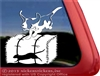 Basset Hound Barn Hunt Dog Car Truck RV Window Decal Sticker