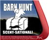 Find Dat Rat Westie Barn Hunt West Highland White Terrier Dog Car Window iPad Decal Sticker
