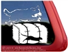 Bernese Mountain Dog Barn Hunt Window Decal