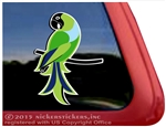 Custom Nanday Conure Parrot Bird Car Truck RV Window Decal Sticker