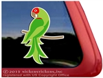 Custom Cherry Headed Conure Parrot Bird Car Truck RV Window Decal Sticker