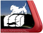 Pit Bull Barn Hunt Dog Window Decal