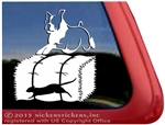 Custom Boxer Barn Hunt Dog Decal Sticker Car Auto Window iPad