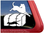 Labrador Retriever Barn Hunt Dog Window Decal