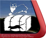 Miniature American Shepherd Barn Hunt Rat Dog Window Decal