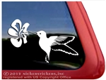 Custom Hummingbird Bird Car Truck RV Window Decal Sticker