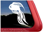 Goldfish Window Decal
