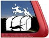 Custom Rat Terrier Barn Hunt Dog Car Truck RV Window Decal Sticker