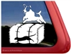 Jack Russell Terrier Barn Hunt Rat Dog Window Decal
