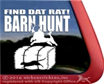 Jack Russell Terrier Barn Hunt Dog Window Decal