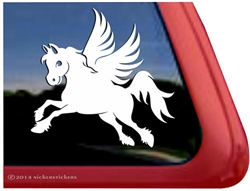 Pegasus Pony Winged Horse Equine Car Truck RV Window Decal Sticker