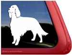 Custom  Irish Setter Dog Car Truck RV Window Decal Sticker