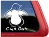 Penguin Window Decal