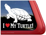 Turtle Window Decal