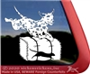 Dalmatian Dog Barn Hunt Window Decal
