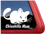 Chinchilla Window Decal
