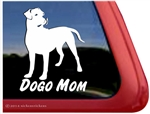 Dogo Mom Dogo Argentino Dog Car Truck RV Window Decal Sticker