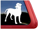 Custom Dogo Argentino Dog Car Truck RV Window Decal Sticker