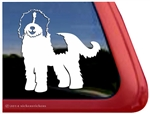 Custom Sproodle Dog Car Truck RV Window Decal Sticker