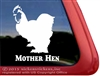 Cochin Chicken Car Truck RV Trailer Window Decal Sticker