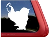 Custom Cochin Chicken Car Truck RV Trailer Window Decal Sticker