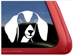 Custom Nubian Goat Car Truck RV Trailer Window Decal Sticker