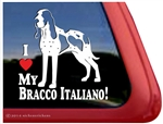 Bracco Italiano Italian Bird Dog Car Truck RV Window Decal Sticker