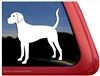 Custom Plott Hound Dog Car Truck RV Window Decal Sticker