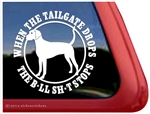Plott Hound Tailgate Dog Car Truck RV Window Decal Sticker