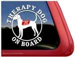 Plott Hound Therapy Dog Car Truck RV Window Decal Sticker