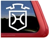 Custom Holsteiner Brand Horse Trailer Car Truck RV Window Decal Sticker