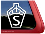 Swedish Warmblood Horse Trailer Car Truck RV Window Decal Sticker