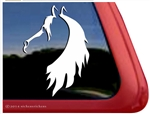 Custom Horse Head Trailer Car Truck RV Window Decal Sticker