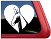 Custom Mule Horse Shoe Head Car Truck RV Window iPad Trailer Decal Sticker