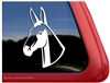 Custom Mule Horse Head Car Truck RV Window iPad Trailer Decal Sticker